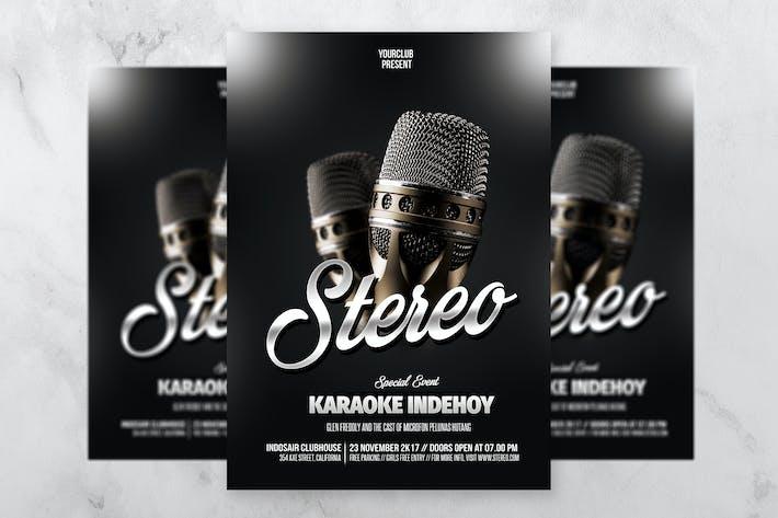 Thumbnail for Stereo Music Flyer