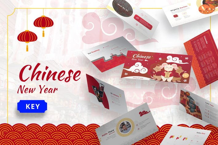 Thumbnail for Chinese New Year - Imlek Keynote Template