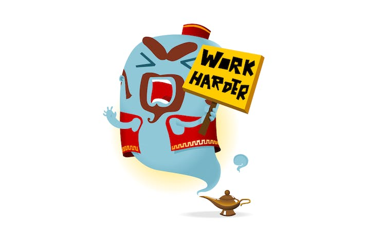 Cover Image For Work Harder