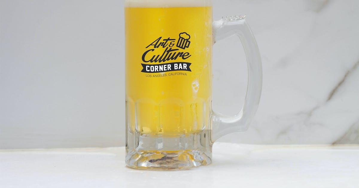 Download Beer Jar Mock Up by RetroBox