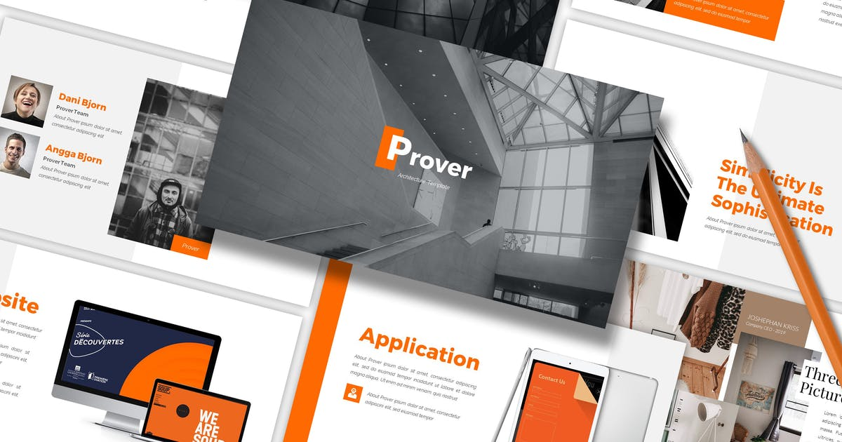 Download Prover - Architecture Powerpoint Template by SlideFactory