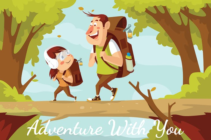 Thumbnail for Adventure With You - Illustration