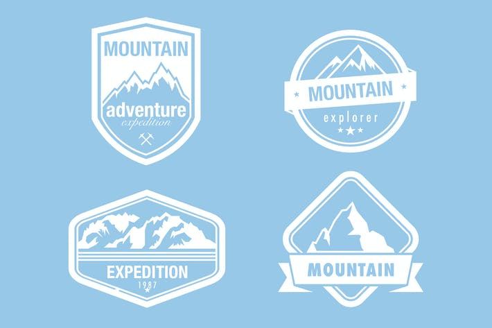 Thumbnail for Mountaineering Badges