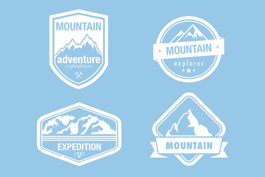 Mountaineering-Badges