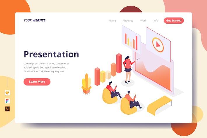 Thumbnail for Présentation - Page de destination