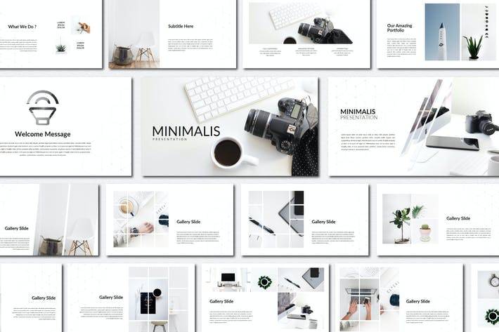 Thumbnail for Minimalis Business | Google Slides