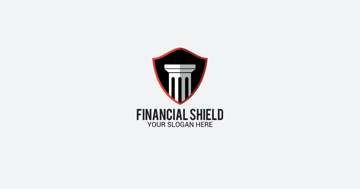 Download financial shield by shazidesigns