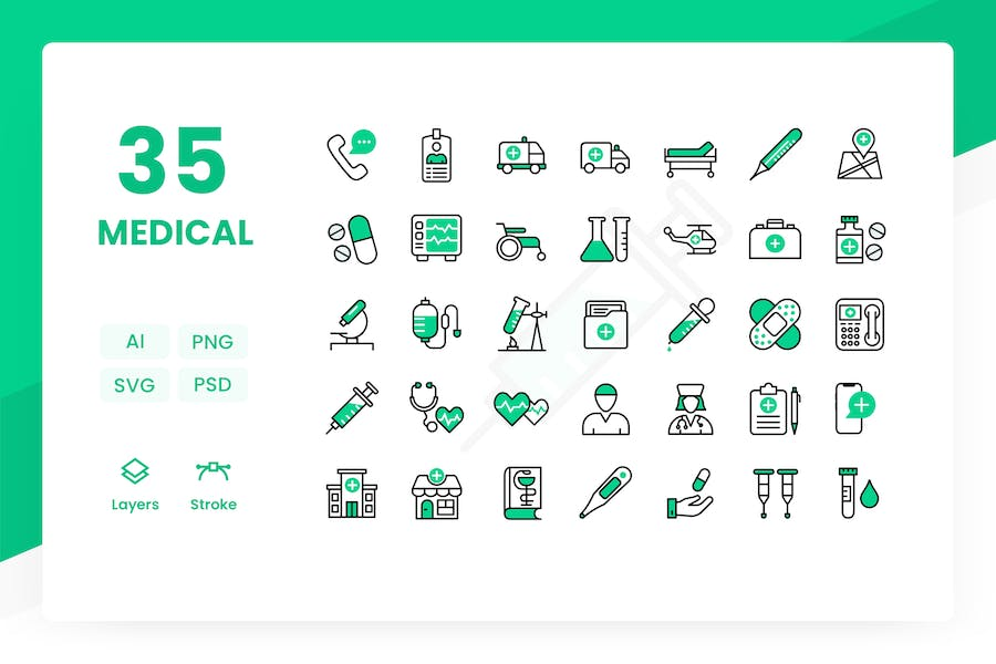 Medical - Icons Pack
