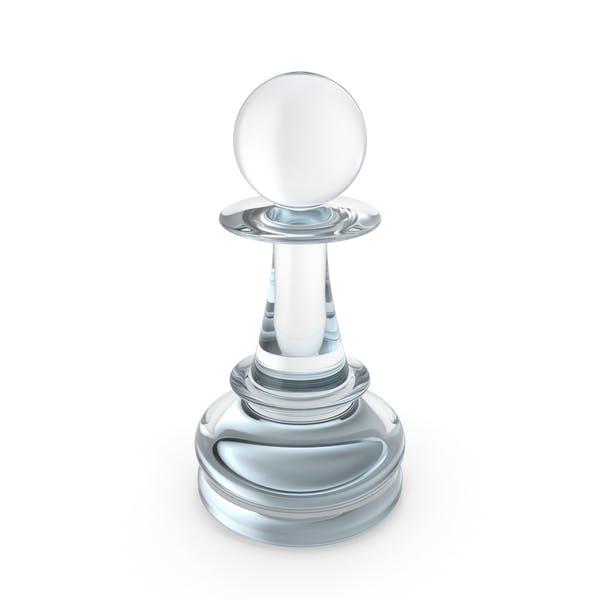 Chess Pawn Glass