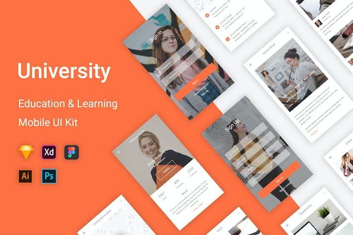 Thumbnail for University - Education & Learning UI Kit