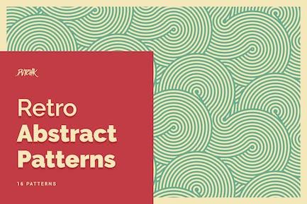 Retro Abstrakte Muster