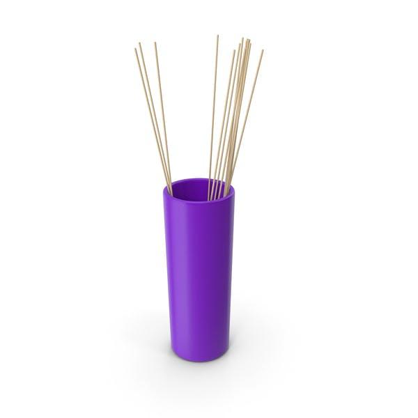 Tube Vase Purple