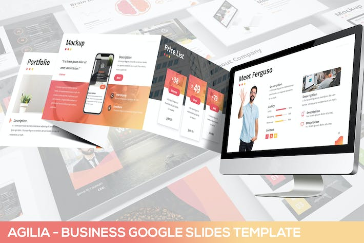 Thumbnail for Agilia - Business Google Slides Template