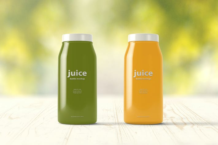 Thumbnail for Juice Bottle Mock-up