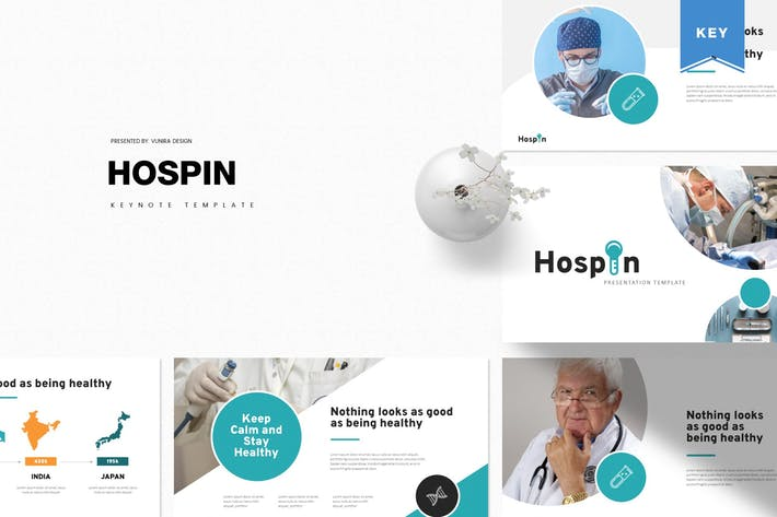 Hospin | Keynote Template