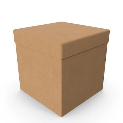 Cardboard Box Cube