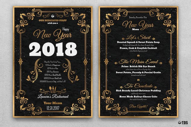 new year menu template v1