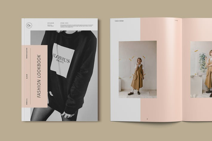 Thumbnail for Fashion Catalog / Lookbook Template