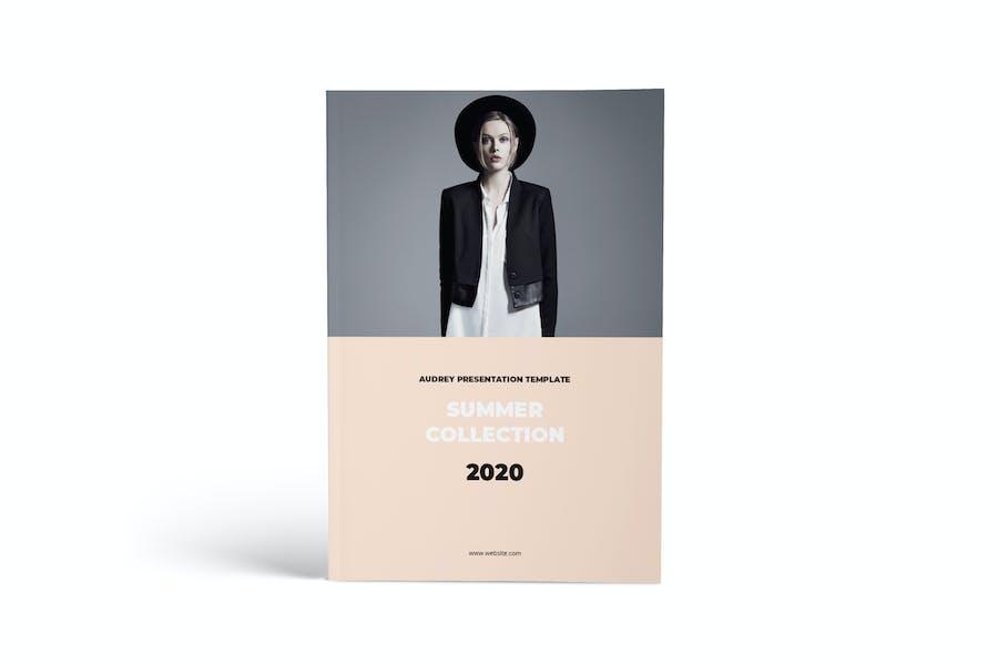 Lookbook A4 Brochure Template