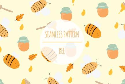 Bee – Seamless Pattern