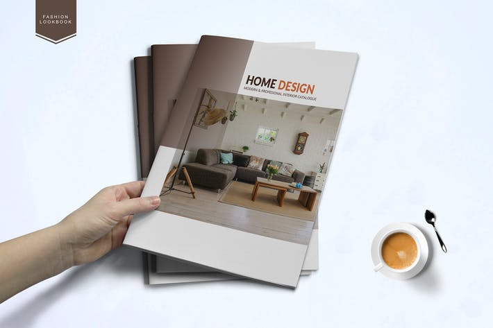 Thumbnail for Interior catalog Template