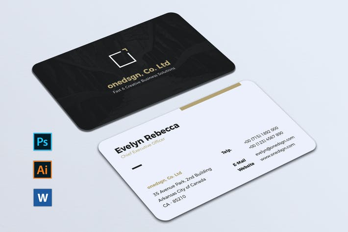 Thumbnail for Minimalist Business Card Vol. 05
