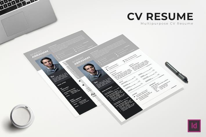 Thumbnail for Freelance CV Resume