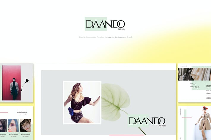 Thumbnail for Daando - Творческая мода Google слайды