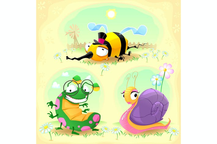 Thumbnail for Two Insects and One Snail