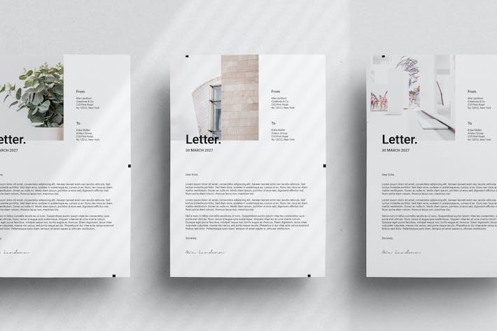 Minimal Branding - Letter Size