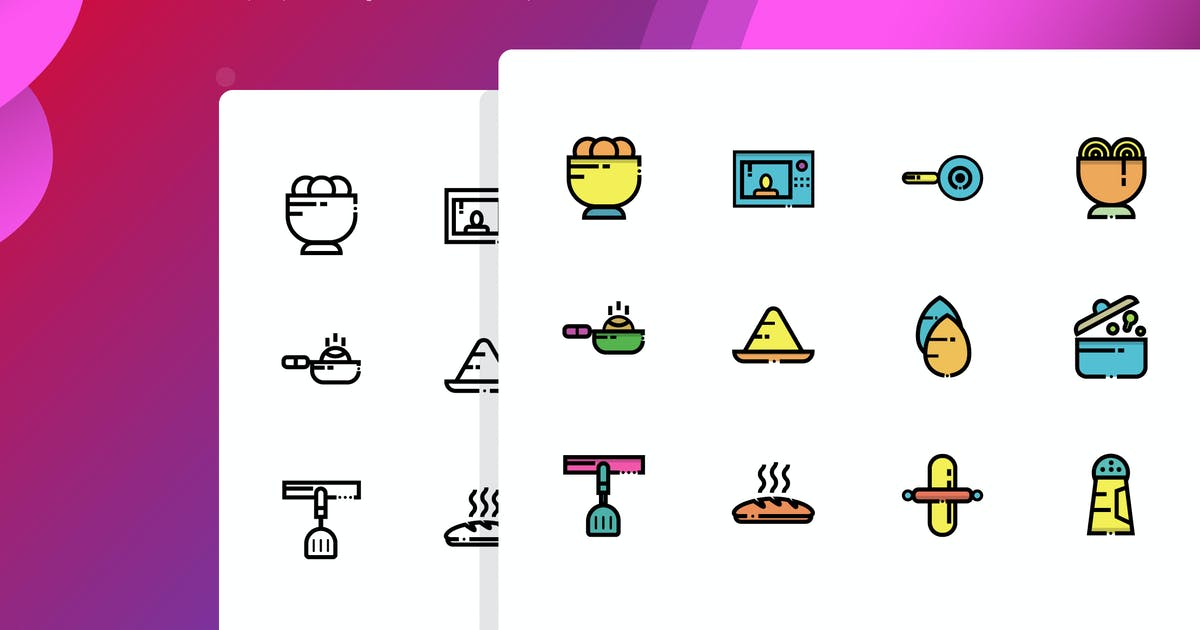 Download Cooking Icon Pack by inspirasign