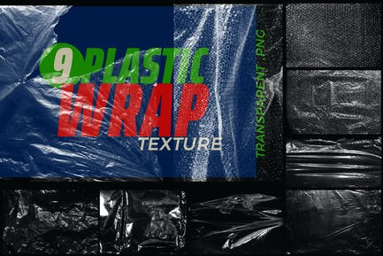 Plastic Wrap Overlay Texture