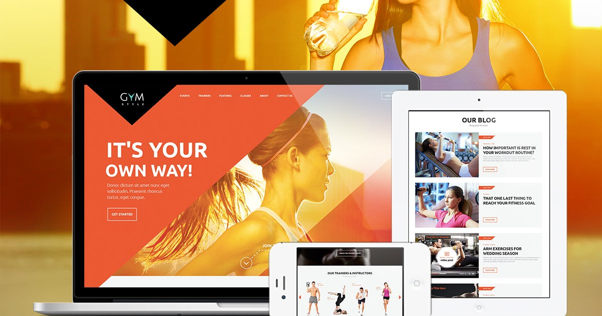 Download GYM by axiomthemes