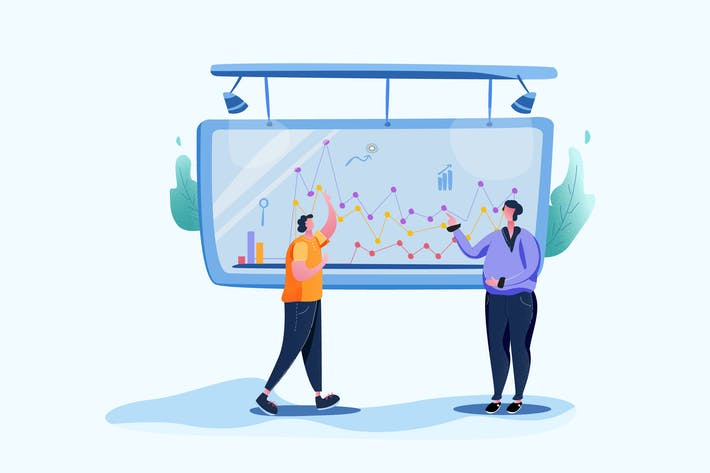 Thumbnail for Google Analysis  - Vector Illustration
