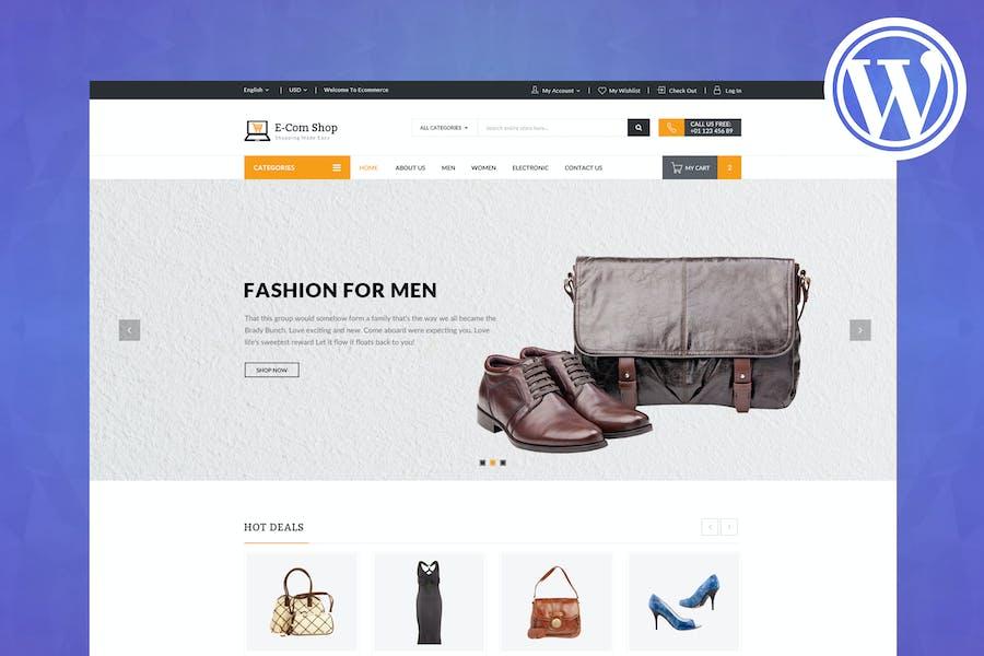 eCom - Responsive WooCommerce WordPress Theme