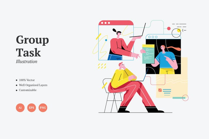 Thumbnail for Grafiken für Gruppenaufgaben