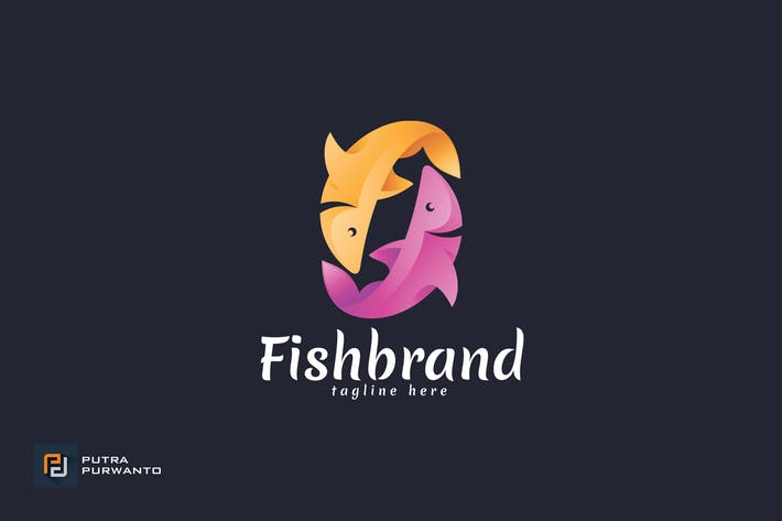 Thumbnail for Fish Brand - Logo Template