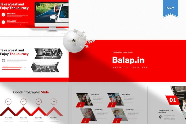 Thumbnail for Balapin | Keynote Template