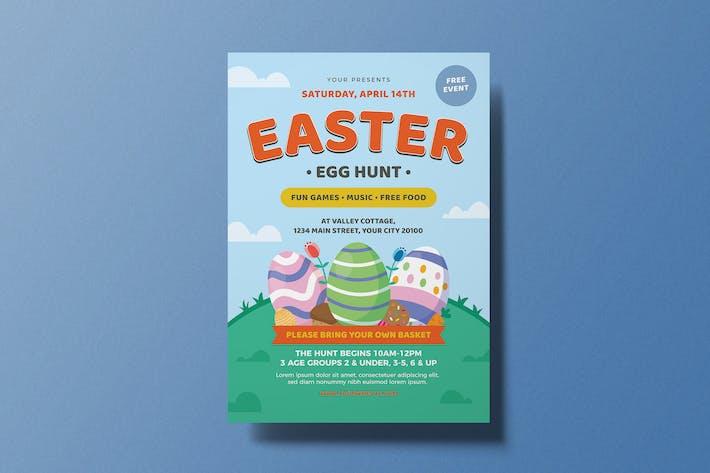 Thumbnail for dépliant de chasse aux œufs de Pâques