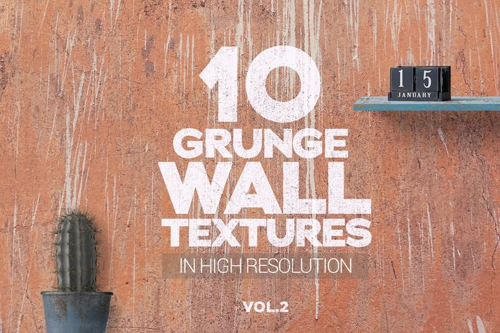 Thumbnail for Grunge Wall Textures x10 vol2
