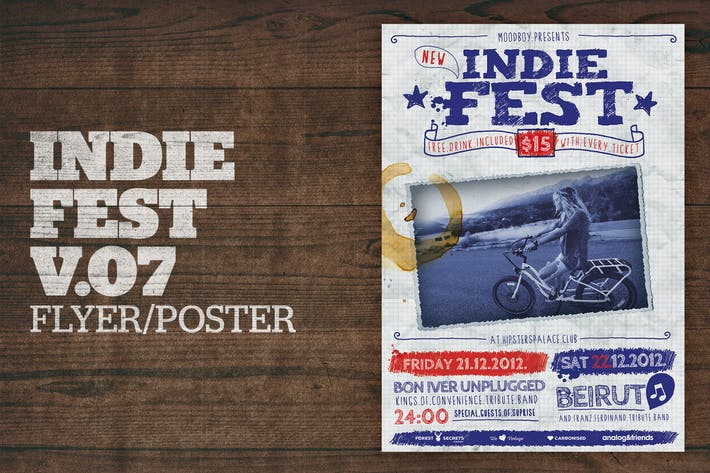 Thumbnail for Indie Fest Poster (Handwritten) V07