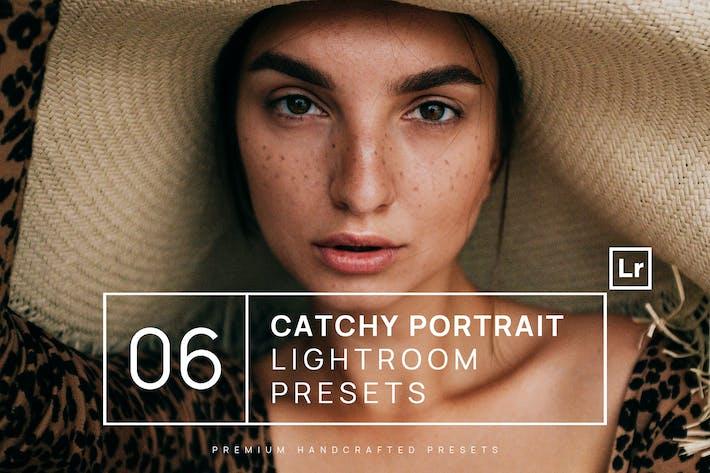Thumbnail for 6 Catchy Portrait Lightroom Presets + Mobile