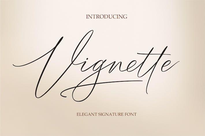 Thumbnail for Vignette Signature Script