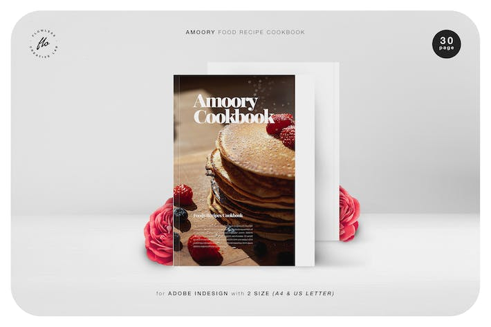 Thumbnail for Amoory Food Recipe Cookbook