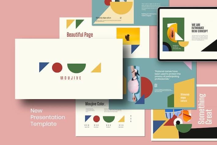 Thumbnail for MOUJIVE - Creative Keynote Modern Presentation