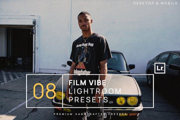 Thumbnail for 8 Film Vibe Lightroom Presets + Mobile