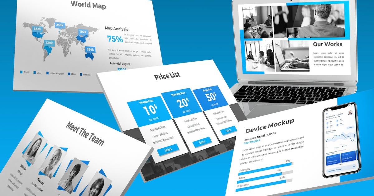 Download Biznes - Business Keynote Template by SlideFactory