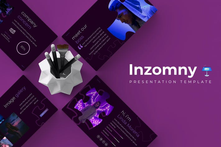 Thumbnail for Inzomny - Keynote Template
