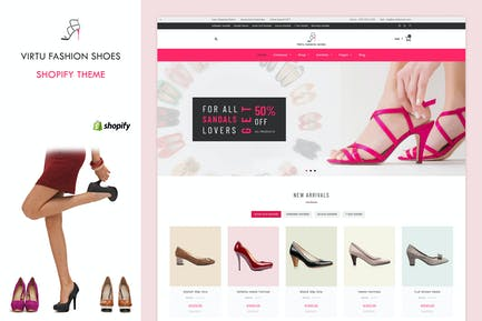 Virtu - Fashion Shoes Store Shopify Theme
