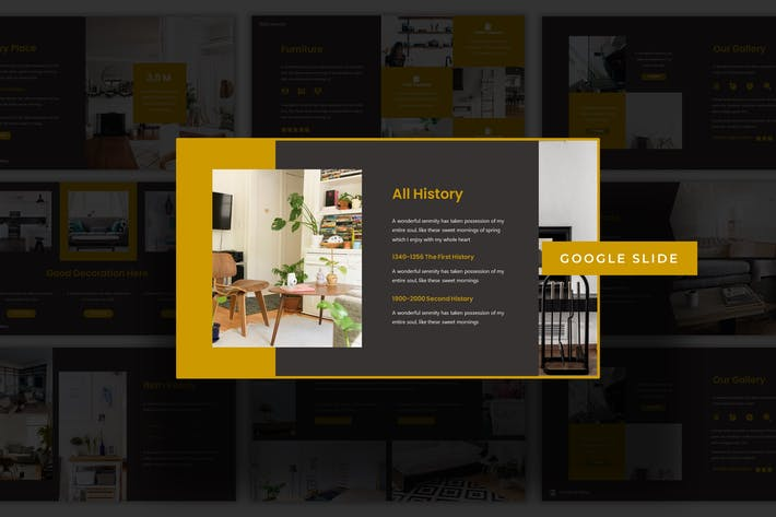 Thumbnail for The Furniture - Google Slide Template